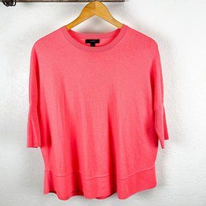 J. Crew Wool Sweater Pink Merino